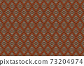 Embroidered ethnic seamless pattern. tribal motifs. Vector illustration. 73204974