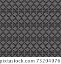 Embroidered ethnic seamless pattern. tribal motifs. Vector illustration. 73204976