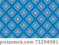 Embroidered ethnic seamless pattern. tribal motifs. Vector illustration. 73204981