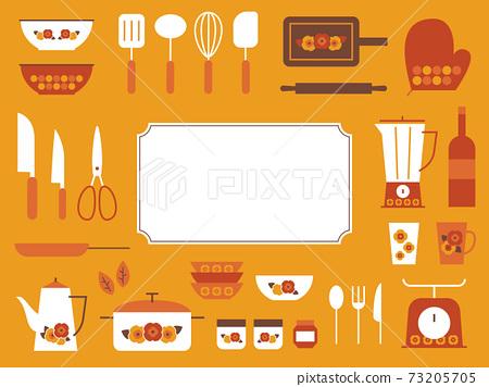復古花藝廚房雜貨架 73205705