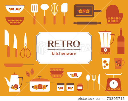 廚具圖標框架 73205713