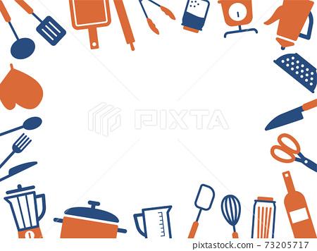 廚具圖標框架 73205717