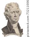 Portrait of U.S. president Thomas Jefferson 73211006