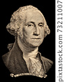 Portrait of first U.S. president George Washington 73211007