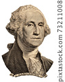Portrait of first U.S. president George Washington 73211008