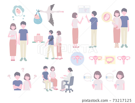 Illustration of fertility 73217125