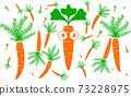 Beautiful carrot in illustrator 73228975