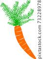 Beautiful carrot in illustrator 73228978
