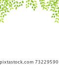 水彩風格鮮綠色拱架廣場 73229590
