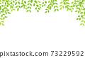水彩風格鮮綠色拱架 73229592
