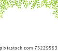 水彩風格鮮綠色拱架 73229593