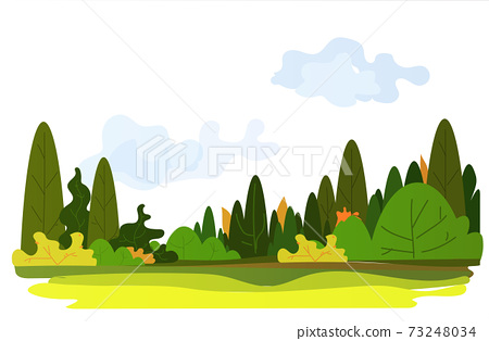 beautiful nature landscape background horizontal 73248034