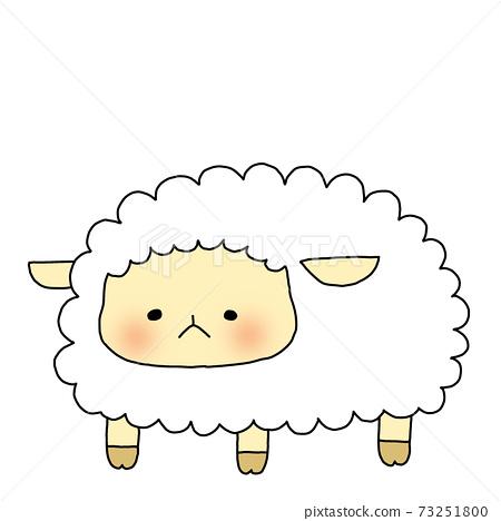 Natural and cute sheep 73251800