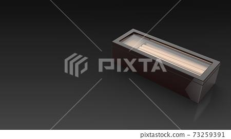 chopsticks case closed black background one right 73259391