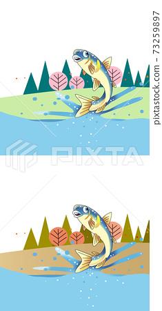 在春季和秋季跳魚 73259897