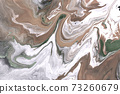 Agate ripple imitation texture. Light brown marble background. 73260679