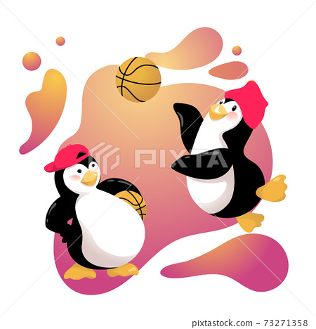 Passionate Basketball Penguins are going to Play 73271358