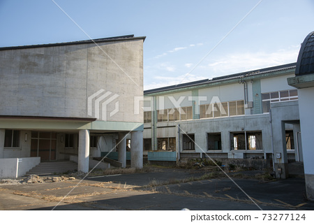 후쿠시마 현 나미에 마치 지진 유적 請戸 초등학교 73277124