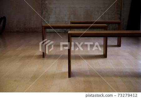 Desk in space 73279412