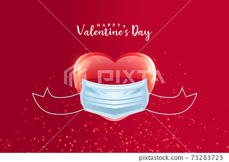 vector design of valentine's day card 73283723