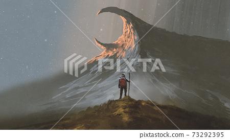 the strange mountain trail 73292395