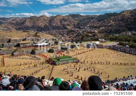 太陽節Intiraimi節在秘魯庫斯科,南美,Intiraimi,庫斯科,秘魯,印加, 73295500