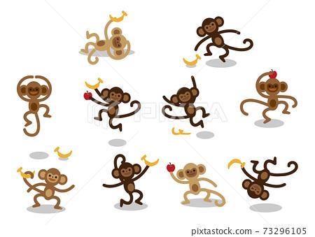 猴子表情設置圖 73296105