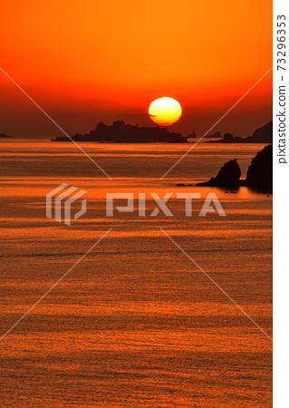 군함 섬의 황혼 73296353