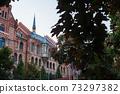 헝가리 부다페스트의 부다 성 지역의 교회 73297382