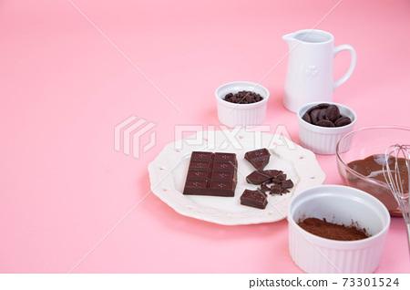 手工巧克力副本空間的圖像照片 73301524