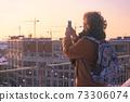 girl at the Saint Petersburg 73306074