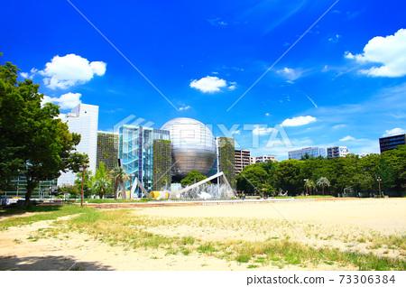 나고야시, 시라카와 공원 및 나고야시 과학관의 풍경 73306384