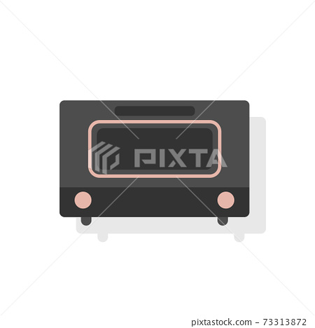Flat vector icon of Toaster 73313872
