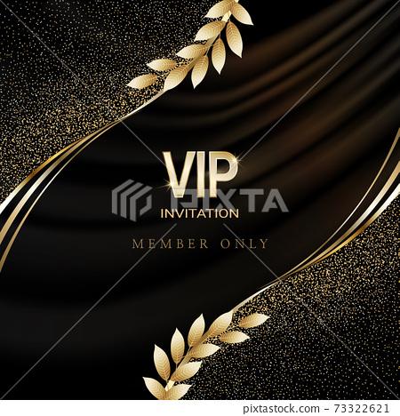 럭셔리 VIP 골드 라벨 초대장 73322621