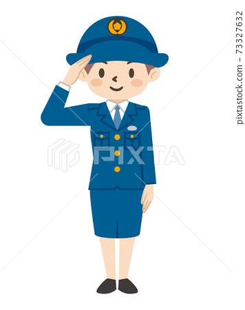 女警官致敬 73327632