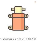 Demand pump or sprayer pump vector icon. 73330731
