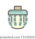 Robot hand hold drinking glass to show technology vector icon design on white background. 73330920