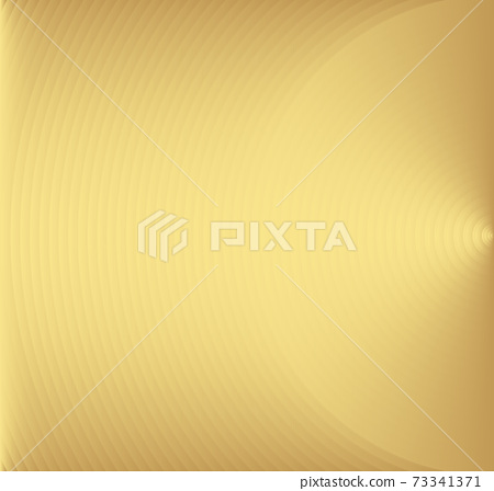 Abstract gold color circle vector background. Modern graphic template. Circles going to the center. Monochrome graphic. 73341371