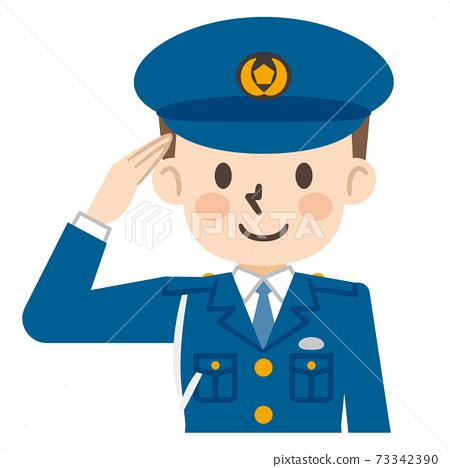 男警察向致敬 73342390
