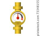 gauge meter pipe 73348155