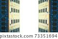 用於台式機的附加內存包圍的框架。白色副本空間。 8K大小。 73351694