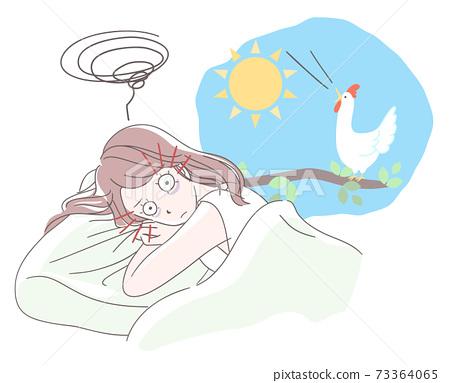 잠들 수없는 여자 73364065