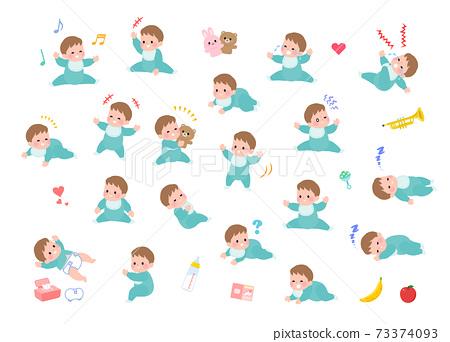 嬰兒 寶寶 寶貝 73374093