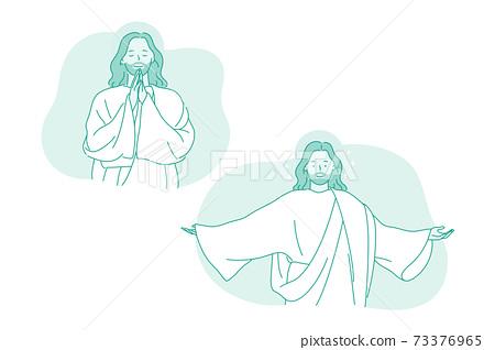 Religion, christianity, Jesus Christ concept 73376965