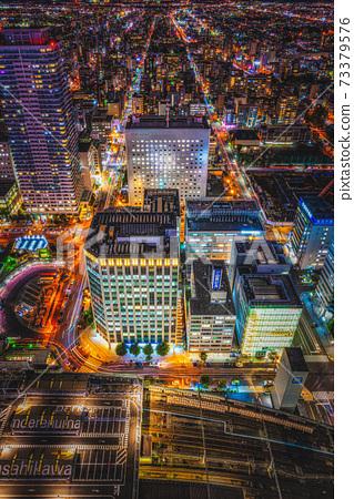 《札幌》 JR塔T38的夜景 73379576