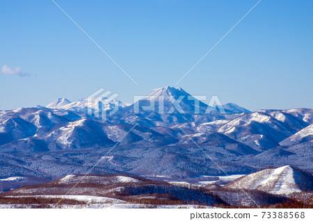 在背景中看到了阿寒山與瑪舒湖 73388568