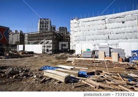 新建築施工現場 73391922