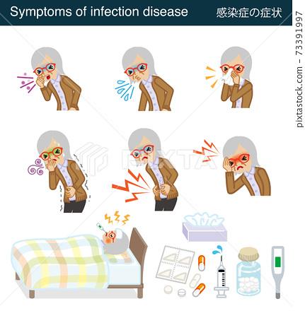 傳染病症狀集-高級婦女 73391997