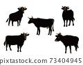 牛插圖 73404945