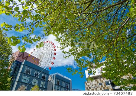 港北新市鎮中心北鮮綠色摩天輪 73407495